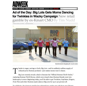 AdWeek's Ad of the Day OKRP