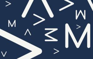 Abstract design using new AMA logo